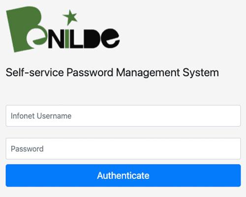 Self-Service Change Password